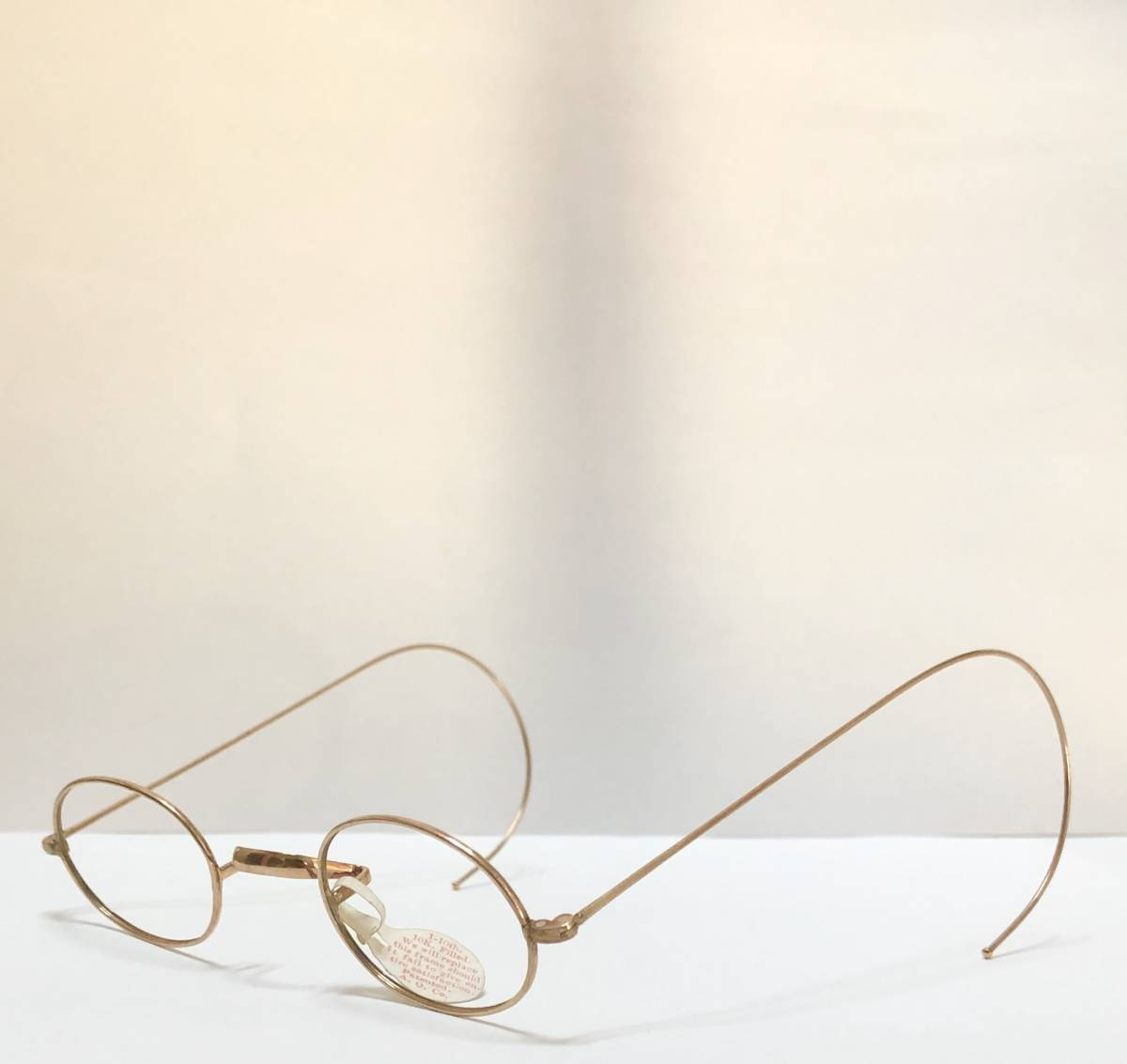 新品・AO10K金張 純正メガネ 1870~1910年代頃 American Optical アメリカンオプティカル 米国ブランド ビンテージ / ヴィンテージ_画像3