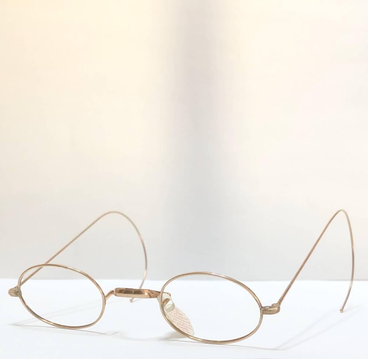 新品・AO10K金張 純正メガネ 1870~1910年代頃 American Optical アメリカンオプティカル 米国ブランド ビンテージ / ヴィンテージ_画像2
