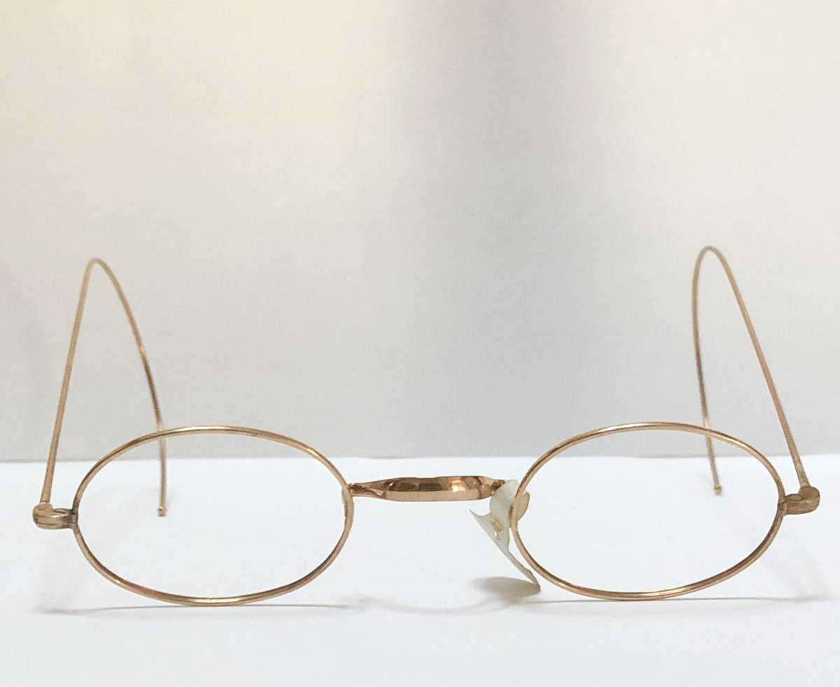 新品・AO10K金張 純正メガネ 1870~1910年代頃 American Optical アメリカンオプティカル 米国ブランド ビンテージ / ヴィンテージ_画像1