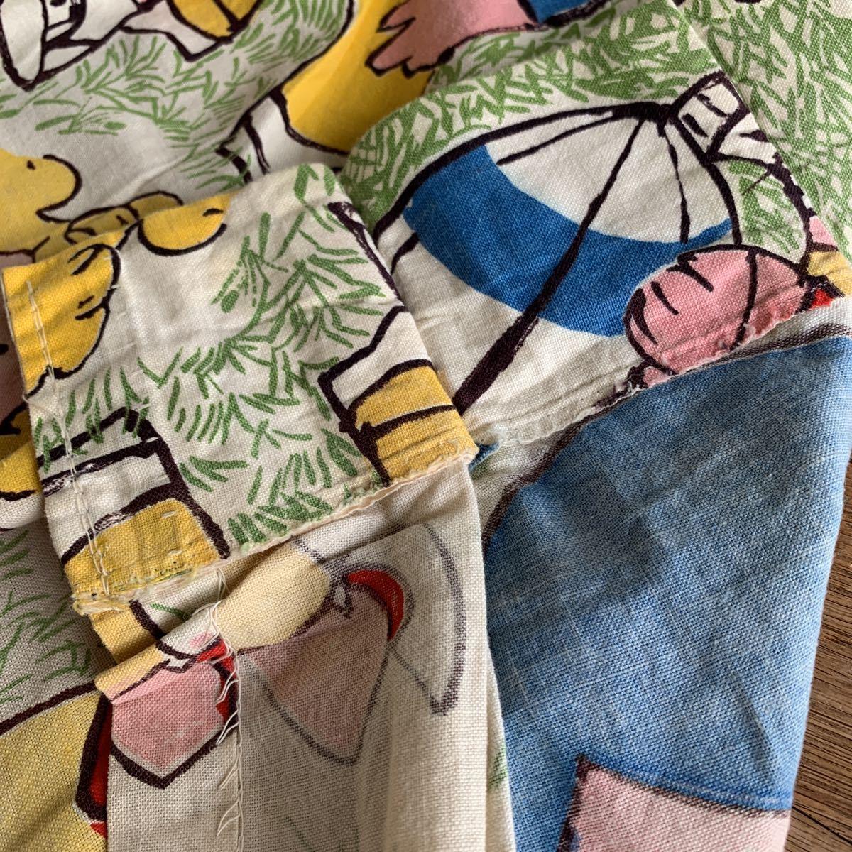 70's アメリカンフットボール柄 アメフト カーテン USED ヴィンテージ リメイク 雑貨 古着屋 ハンドメイド アンティーク デッドストック_画像5