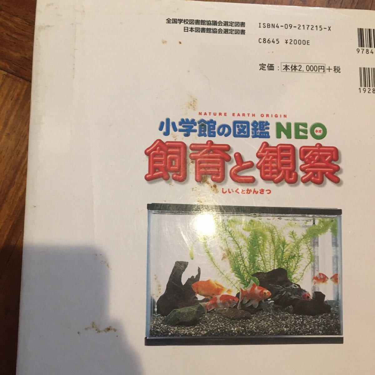 飼育と観察 小学館の図鑑NEO
