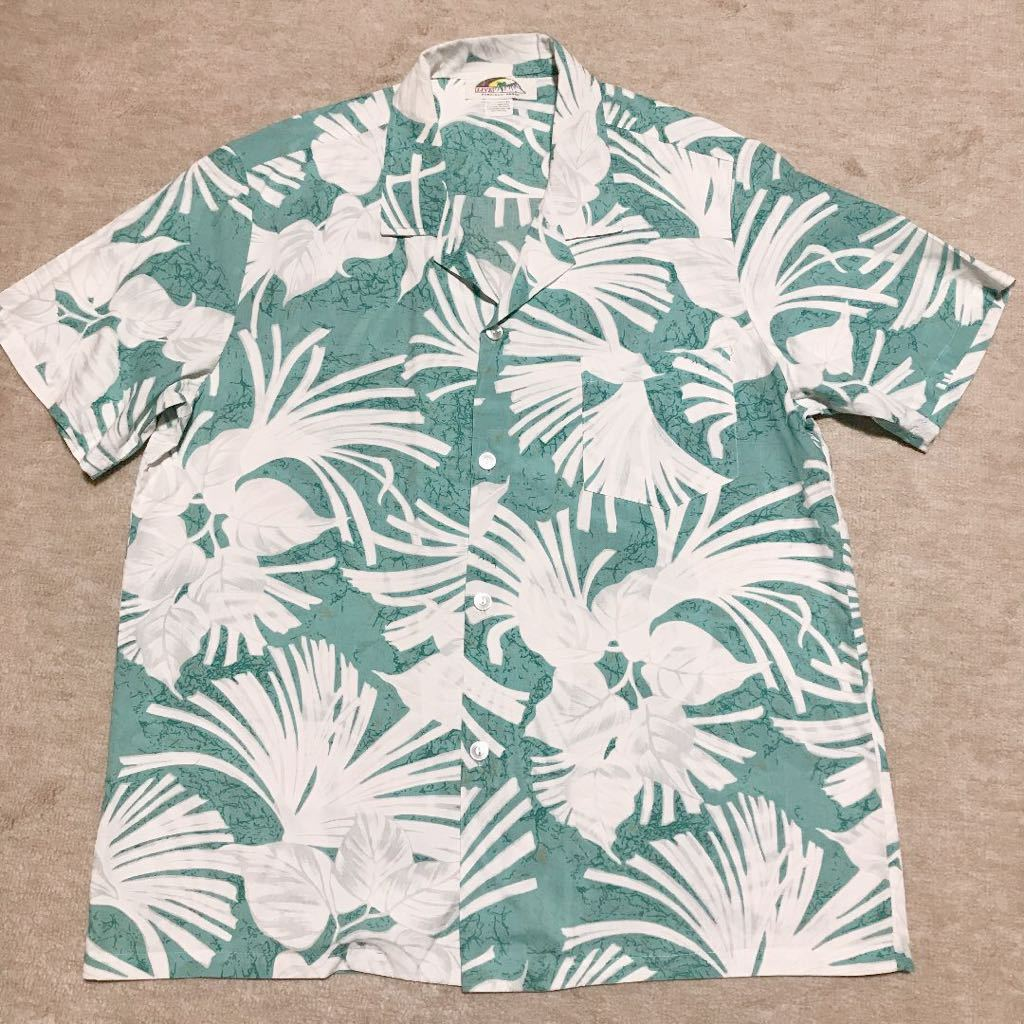 L【LIVE/HAWAII】アロハシャツ
