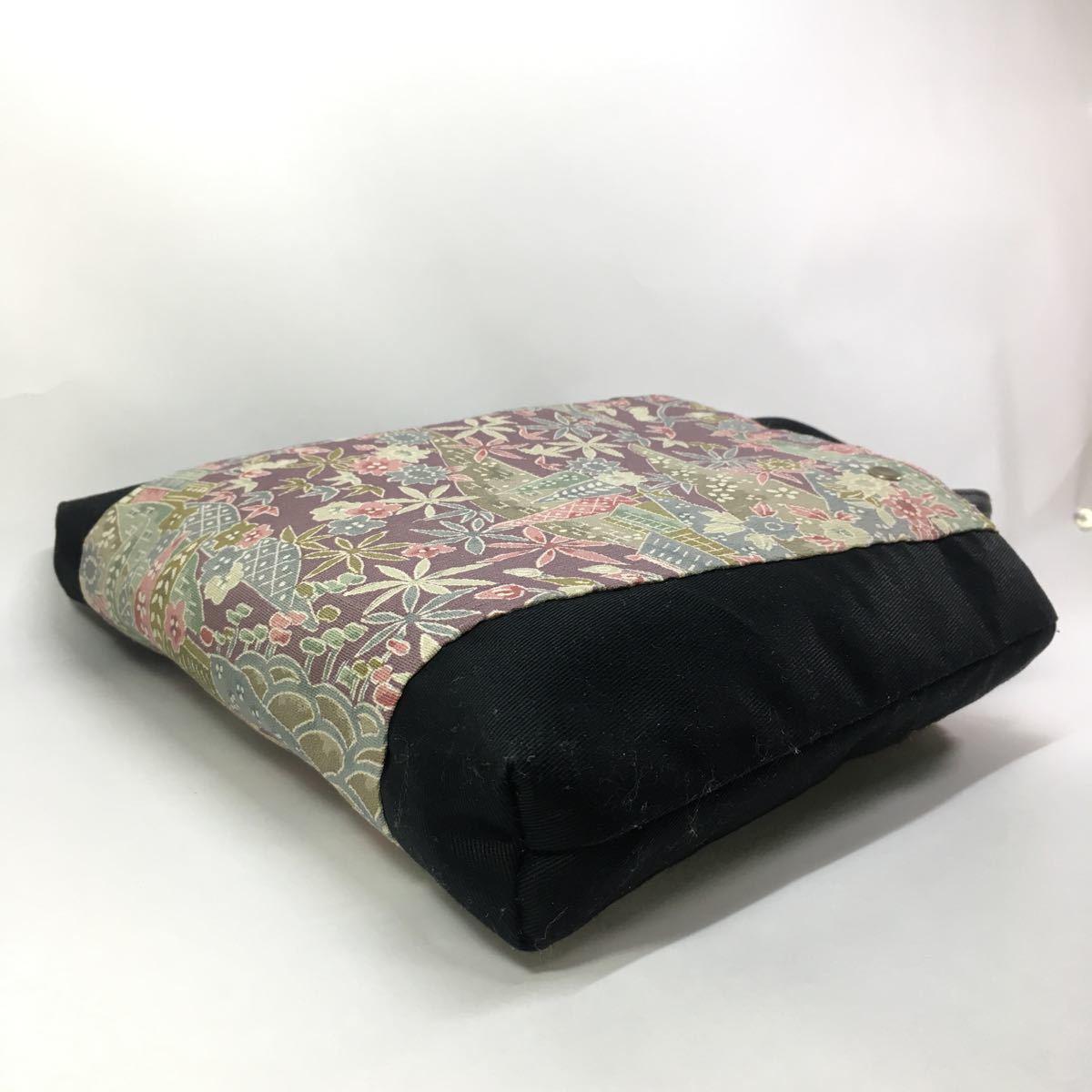 [新作] ちえの和 ★着物リメイク 手提げバッグ★