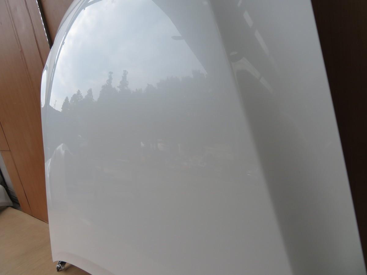 H17 レクサス IS250 GSE20 062/ホワイト ボンネットフード/フードパネル/ボネット_画像3