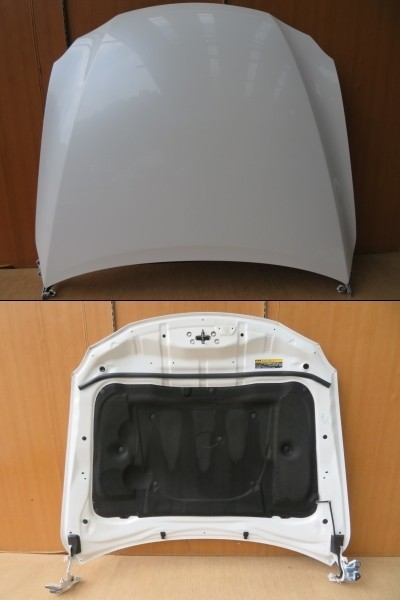 H17 レクサス IS250 GSE20 062/ホワイト ボンネットフード/フードパネル/ボネット_画像2