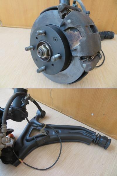 H11 バモス HM1 2WD 左フロント足回り/左F足周り(一式)_画像2
