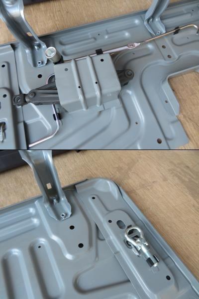 H27 ハイゼット S321V リアシート/Rシート_画像2