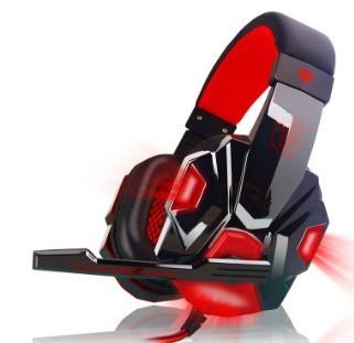 h229 ゲーミングステレオヘッドホン ゲーム ヘッドセット 高音質 マイク LEDライト 快適装着 PC/PS4/XBOX_画像5