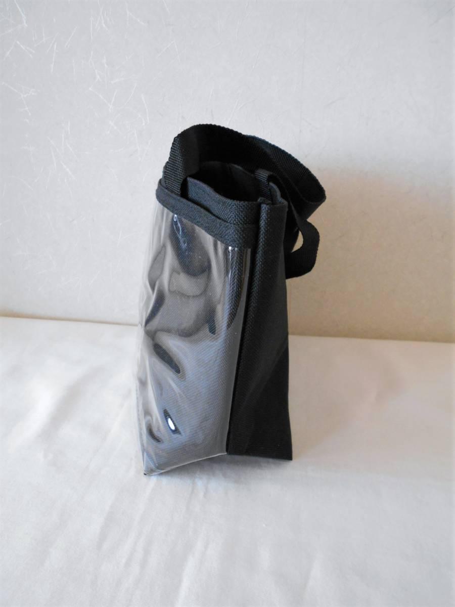 ●未使用●前が透明ポケット 自分流りアレンジ出来る・トートバッグ/手提げ ハンドメイド用に・・バッジ・ぬいぐるみ・ポスターなど_画像2