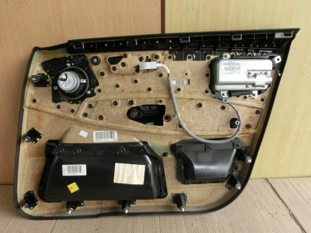 ★BMW X3 助手席 ドア 内張り 平成20年 後期 ABA-PC25 左 フロント スピーカー付 E83 2.5SI 7.7万㌔ 08y _画像3