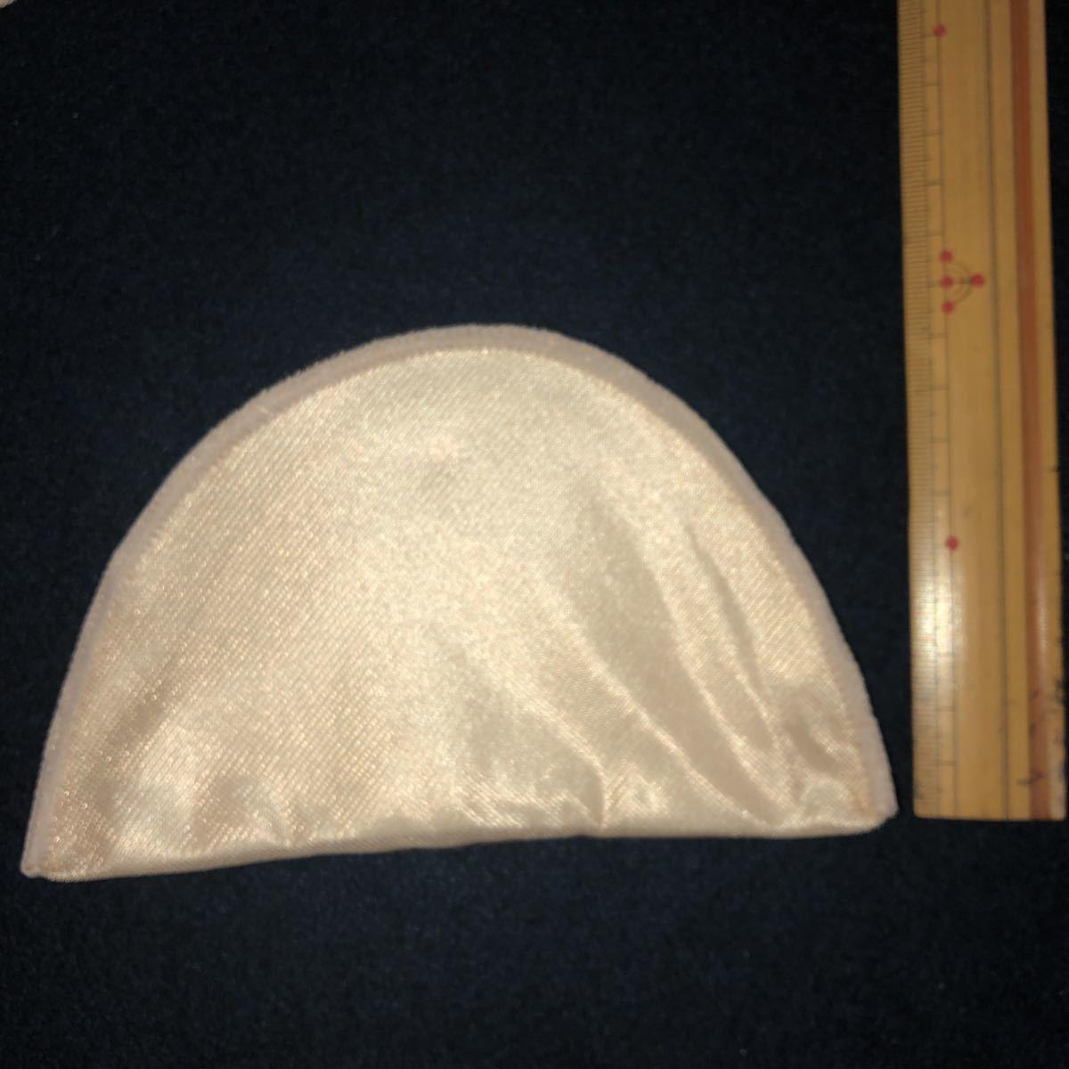 スタンダードタイプ セットイン型肩パット 20枚 厚さ(mm): 約5 色: ベージュ 寸法(横×縦)(mm): 約155×95 ブラウスパット  裁縫用_画像5