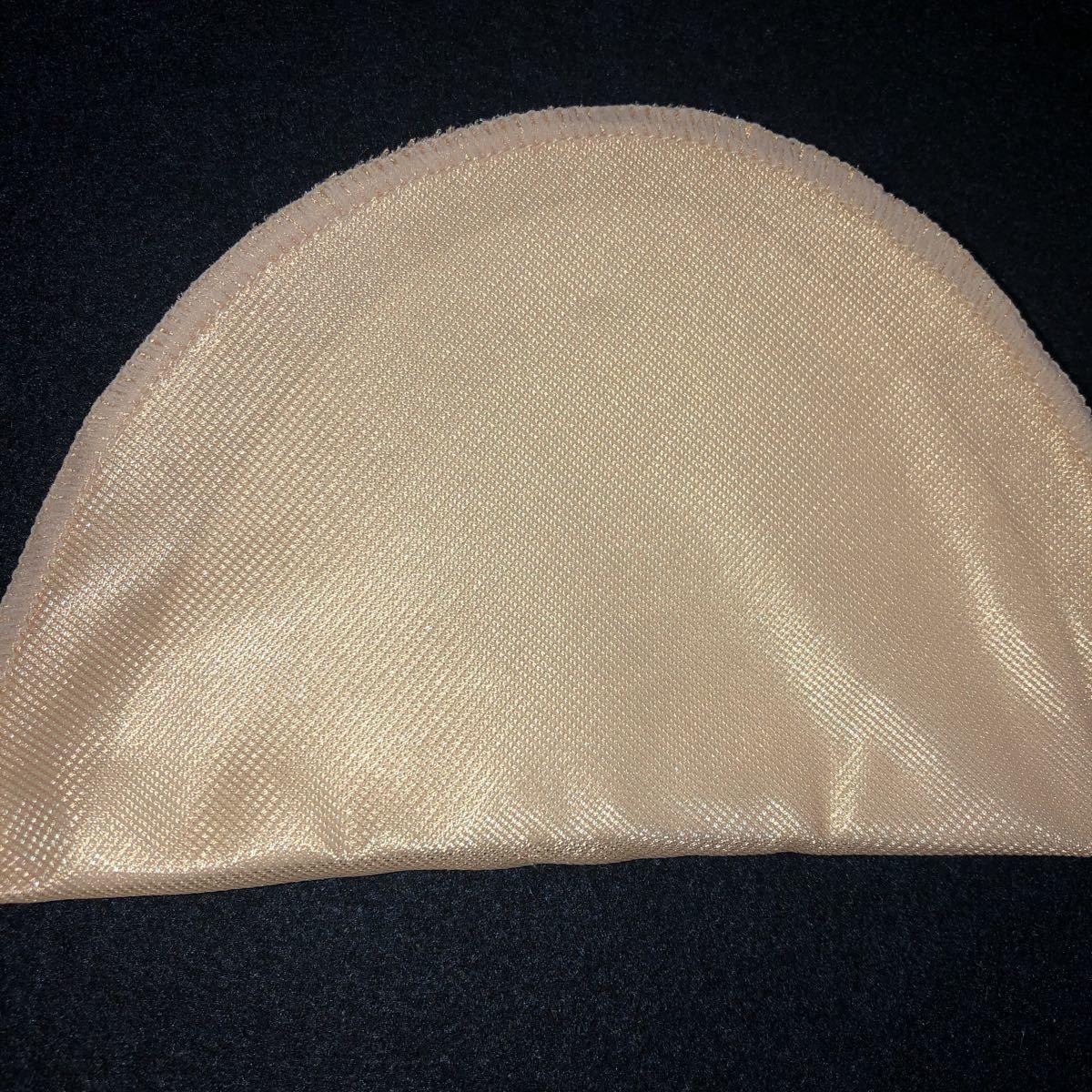 スタンダードタイプ セットイン型肩パット 20枚 厚さ(mm): 約5 色: ベージュ 寸法(横×縦)(mm): 約155×95 ブラウスパット  裁縫用_画像6