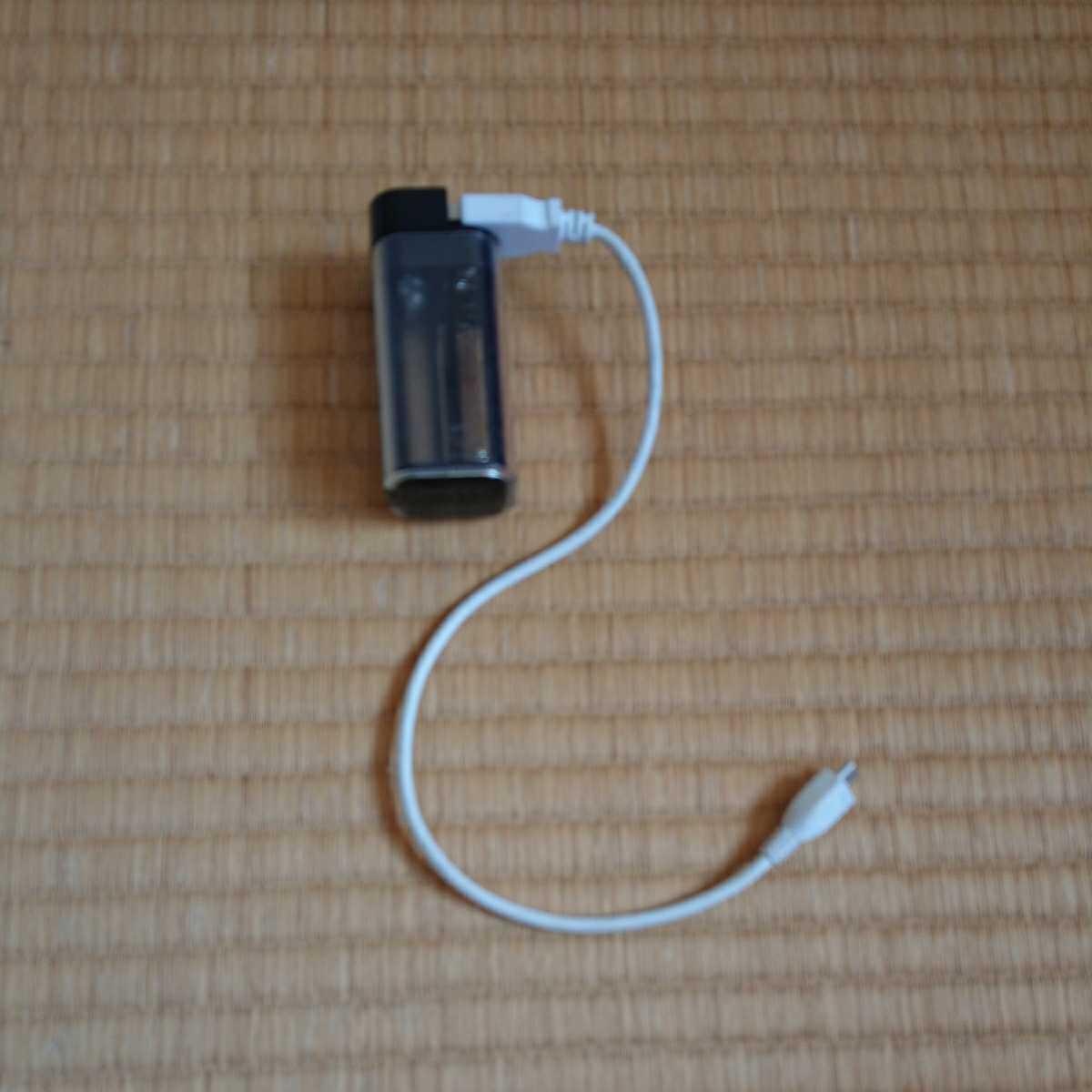 非常用 USB充電器 単3乾電池 4本使用_画像2