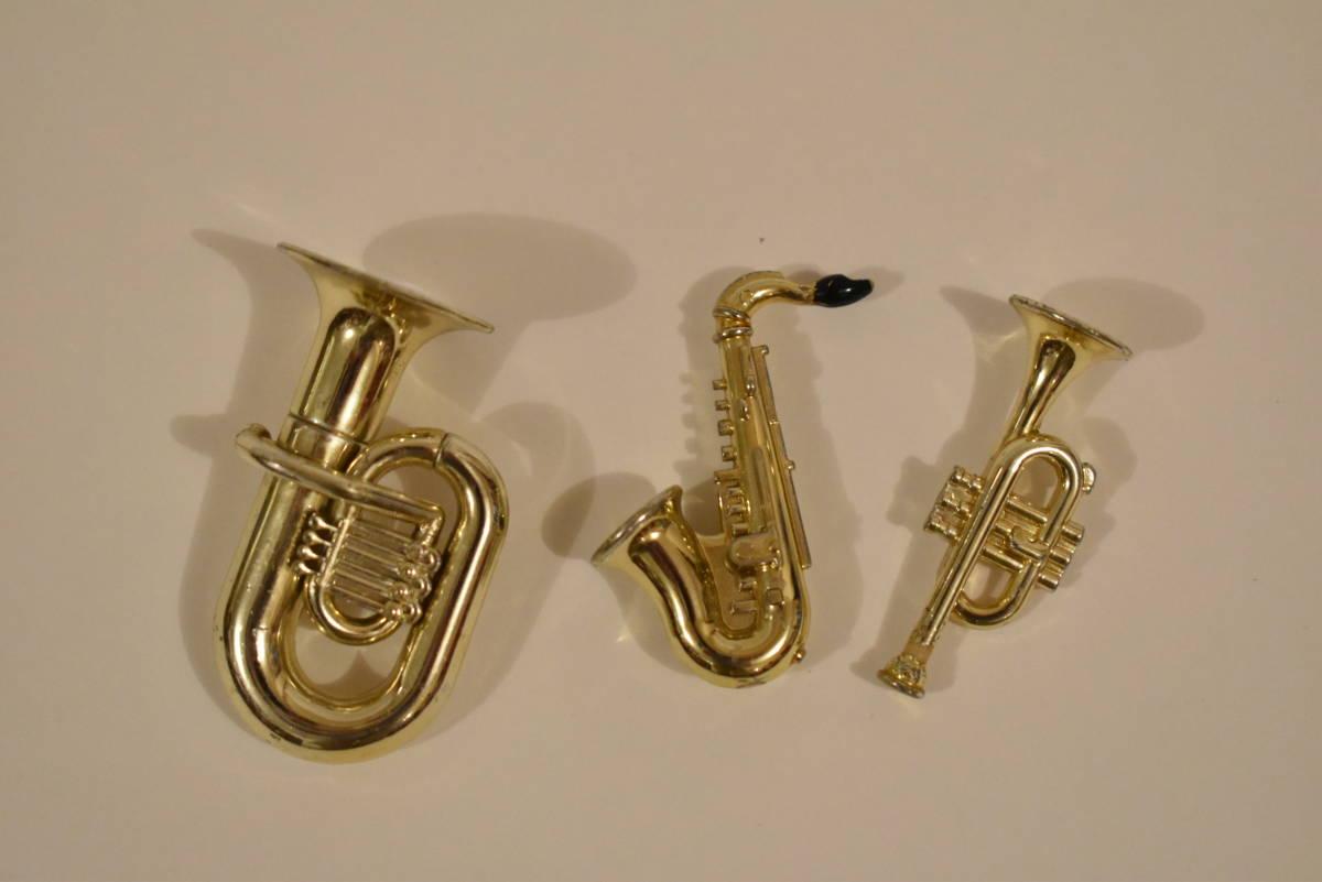 シルバニアファミリー チューバ サキソフォン トランペット 楽器セット*楽器*鼓笛隊*学校*used