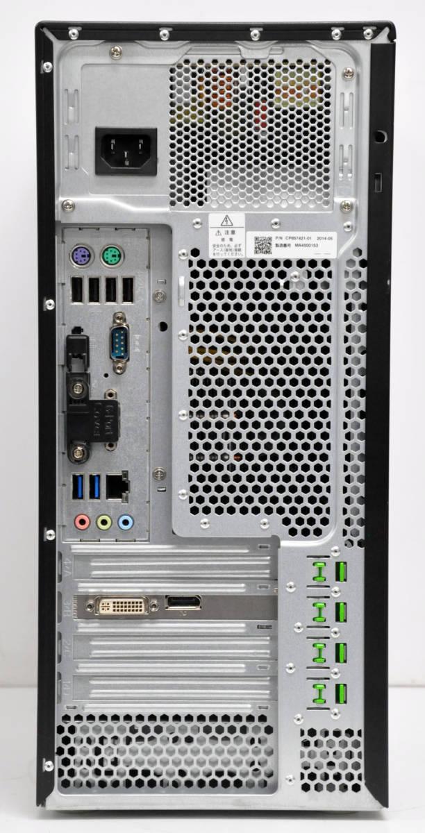 ★高速グラボQuadroK600搭載 Workstation CELSIUS W530 E3-1281V3 3.7GHz/メモリ16GB/新品SSD240+1TB/マルチ/Win10Pro64bit_画像3