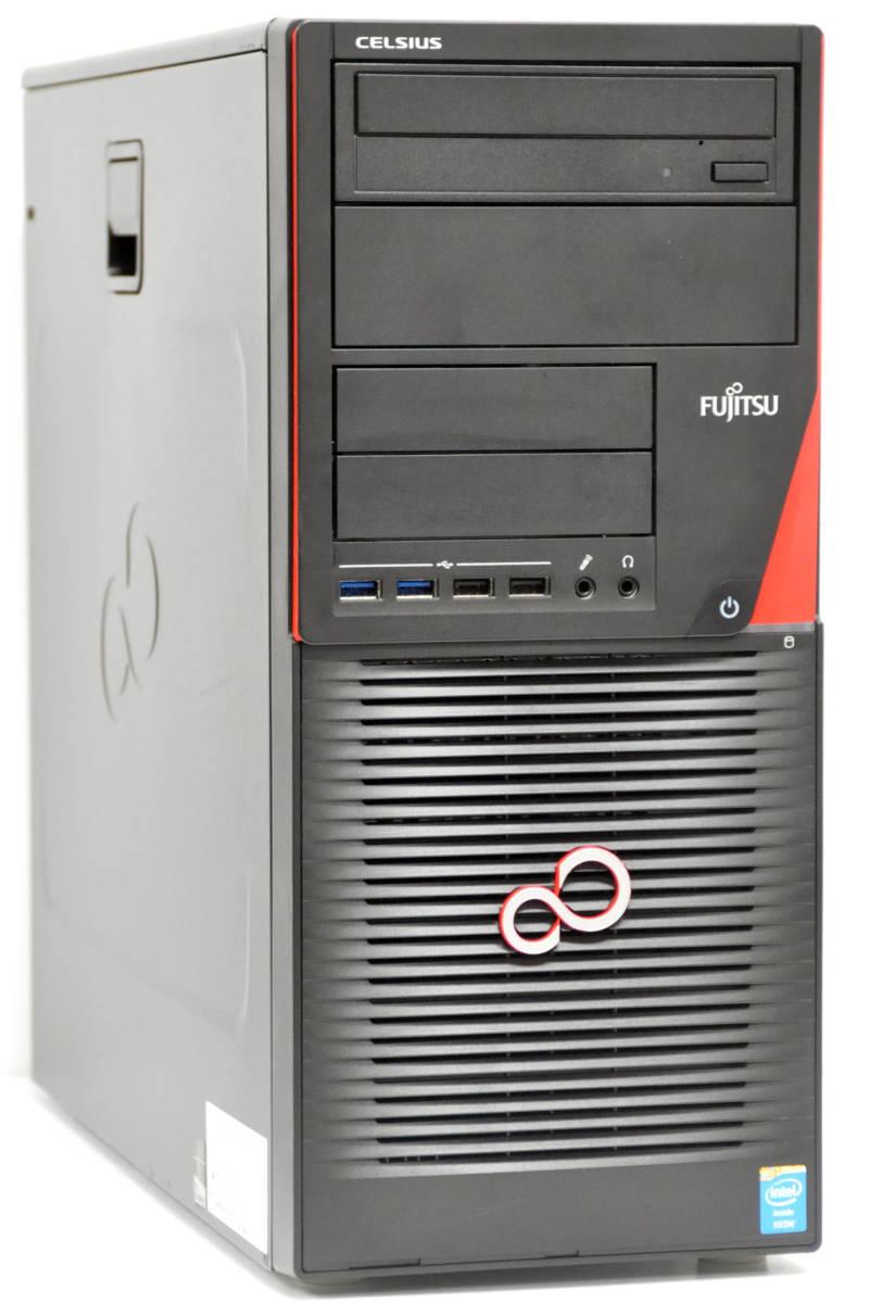 ★高速グラボQuadroK600搭載 Workstation CELSIUS W530 E3-1281V3 3.7GHz/メモリ16GB/新品SSD240+1TB/マルチ/Win10Pro64bit_画像1