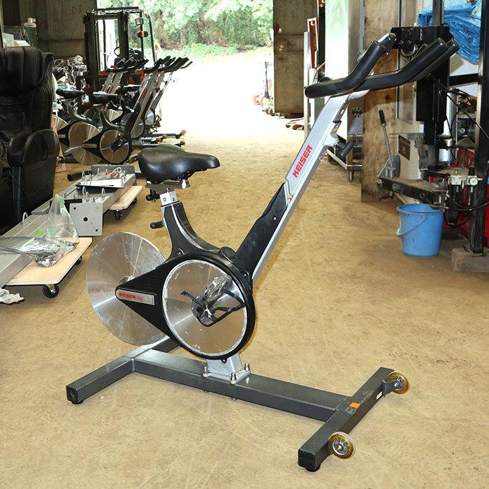 ‰ カイザー KEISER インドアサイクル m3 スピンバイク エアロバイク トレーニング サイクリングマシン 中古 KE_画像1