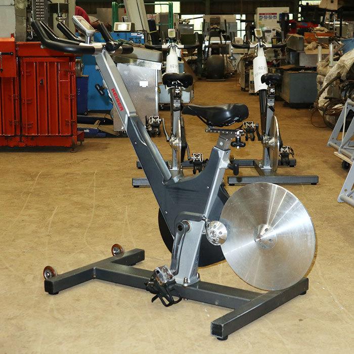 ‰ カイザー KEISER インドアサイクル m3 スピンバイク エアロバイク トレーニング サイクリングマシン 中古 KE_画像2