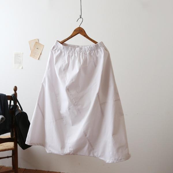 SALE。「愉快なパンツ」83cm丈 コットン100% パッチワーク サルエル ホワイト F41_画像7