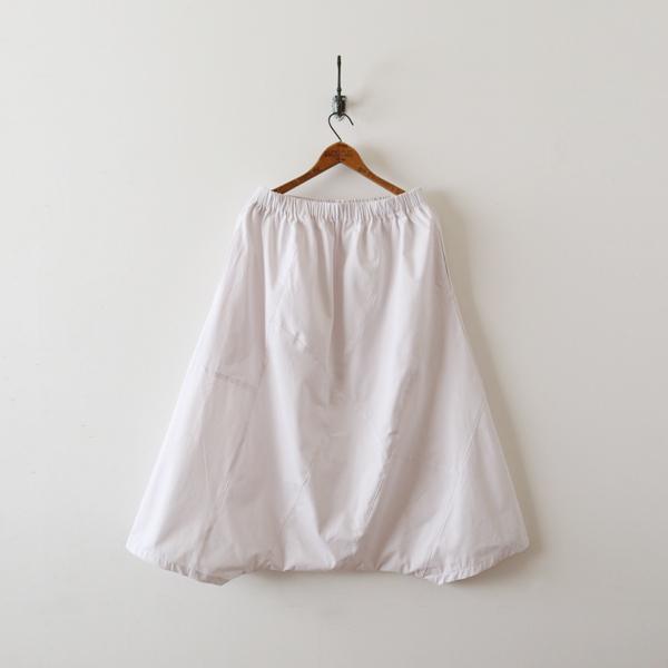 SALE。「愉快なパンツ」83cm丈 コットン100% パッチワーク サルエル ホワイト F41_画像10
