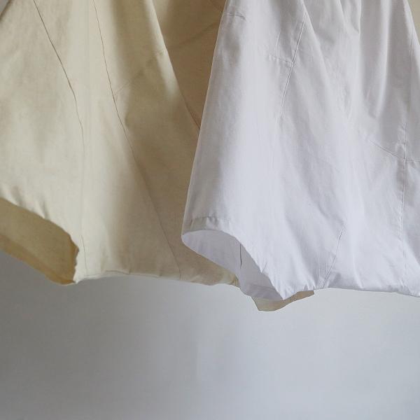 SALE。「愉快なパンツ」83cm丈 コットン100% パッチワーク サルエル ホワイト F41_画像6