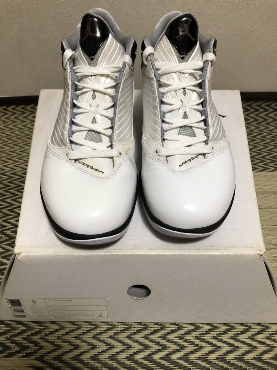 Nike Air Jordan2009(ジョーダン)白黒 us9(27cm)美品_画像1