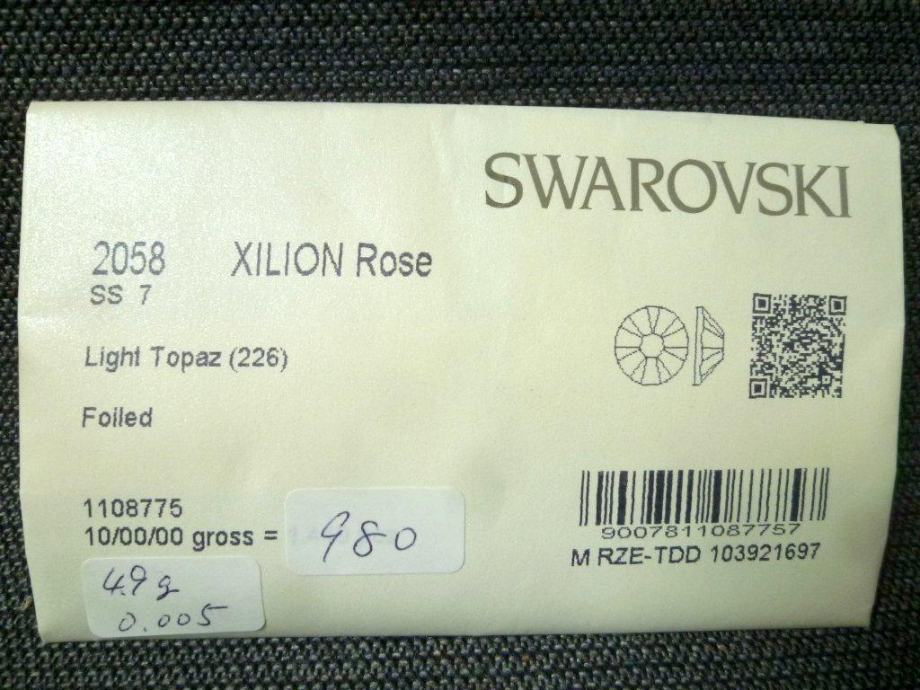 その15 開封済 X 4袋 2058 SS7 スワロフスキー ラインストーン ネイル デコ Swarovski社製 オーストリア製 正規品_画像5