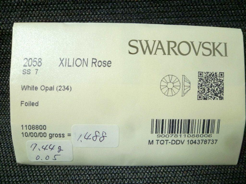 その15 開封済 X 4袋 2058 SS7 スワロフスキー ラインストーン ネイル デコ Swarovski社製 オーストリア製 正規品_画像4