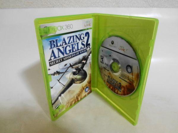 送料無料 即決 マイクロソフト XBOX 360 ブレイジング・エンジェル2 北米版 シューティング UBI 名作 シリーズ レトロ ゲーム ソフト a757