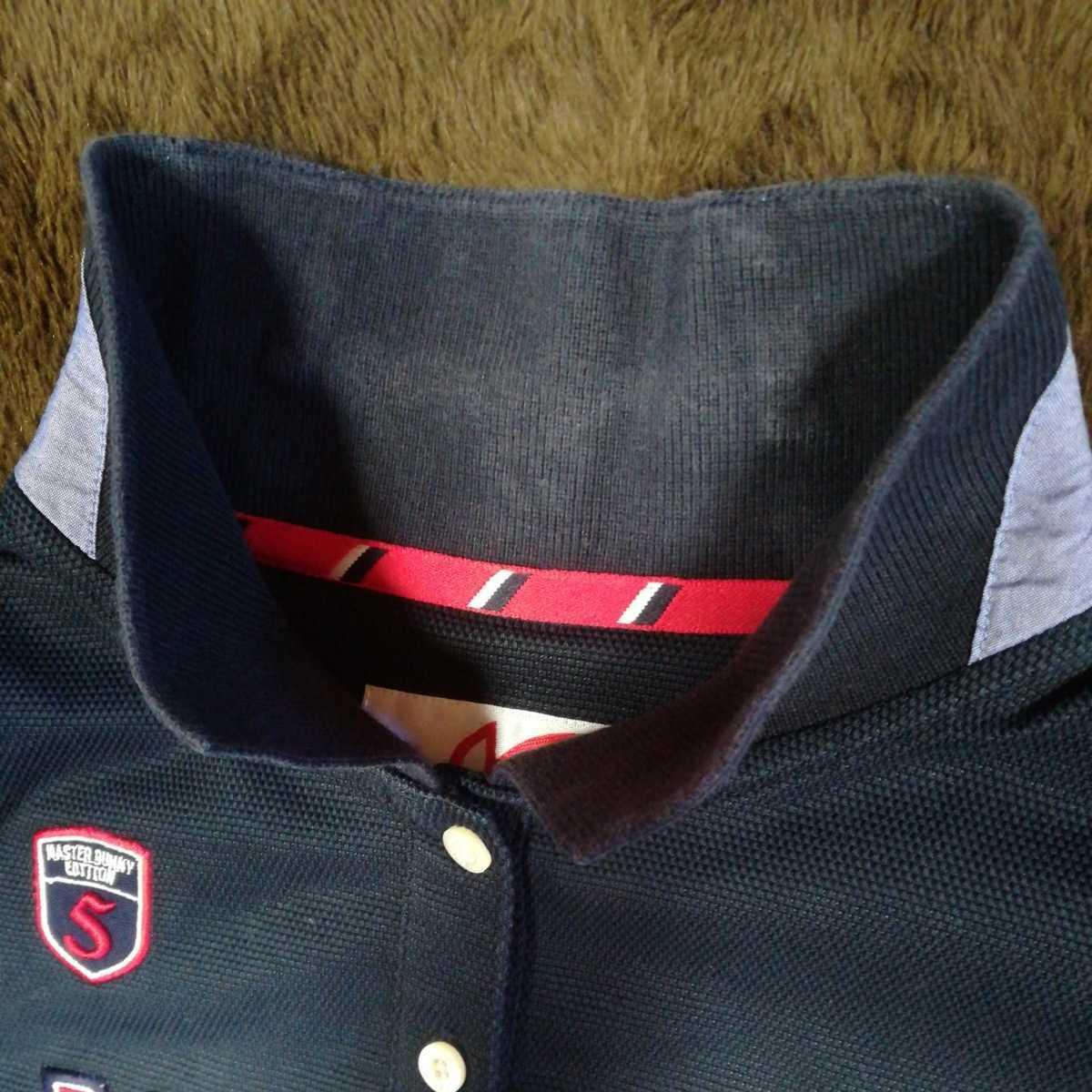 中古 正規品 マスターバニー パーリーゲイツ サイズ2 高品質エアロタッシェ素材 高機能 ポロシャツ 2枚セット 送料無料_画像5