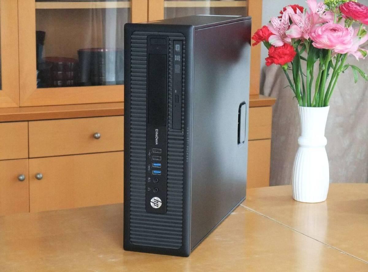 ☆究極 i7-4790 4.0Gx8/超大容量32Gメモリ/新品SSD960G+HD3TB/Office2019/無線LAN(WI-FI)/Win10/4K/USB3.0/領収証可/税不要/ProDesk600