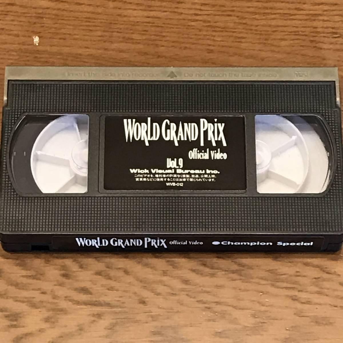 '93世界選手権ロードレース Vol.9 チャンピオン スペシャル ワールドグランプリ オフィシャルビデオ _画像4