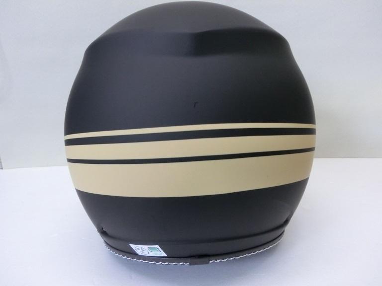 パイロットジェットヘルメット/アーミースター/マットブラック/Lサイズ/MS340/マルシン_画像4