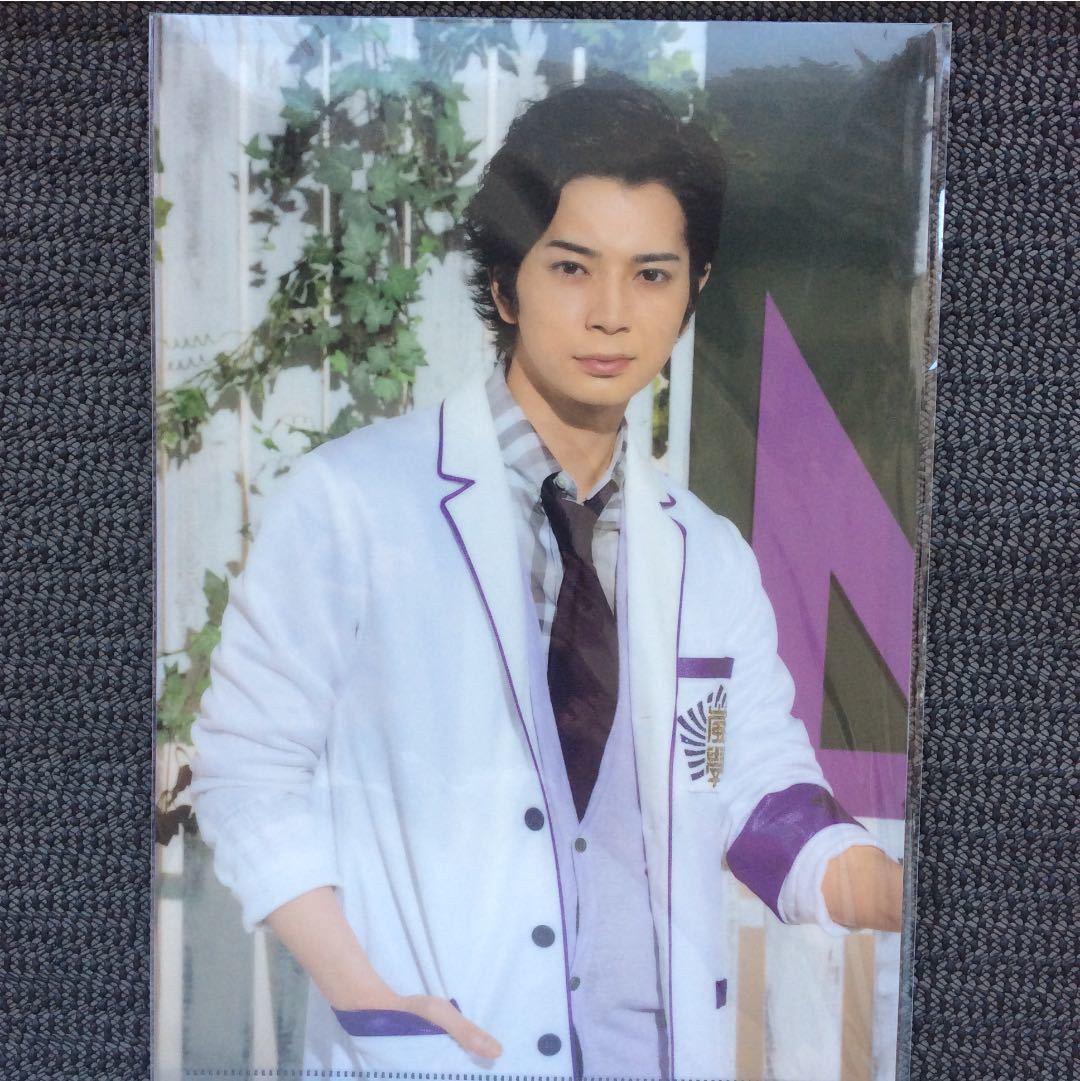 【未開封】嵐 2013年 ワクワク学校グッズ 松本 先生のチクタクの授業 クリアファイル