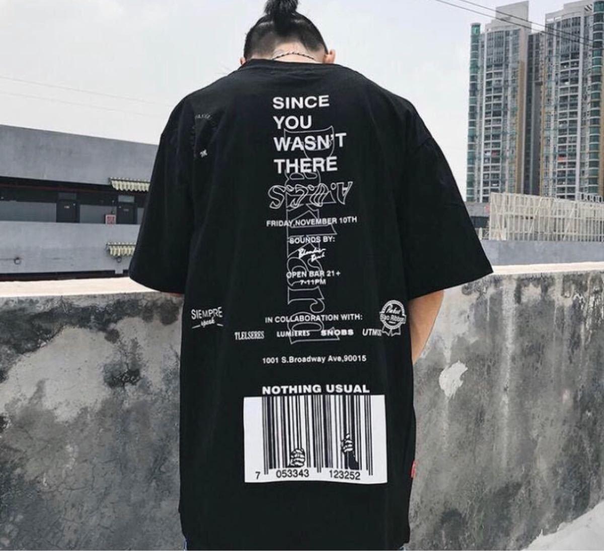 メンズTシャツ メンズシャツ オーバーサイズ ビックシルエット Tシャツ 韓国