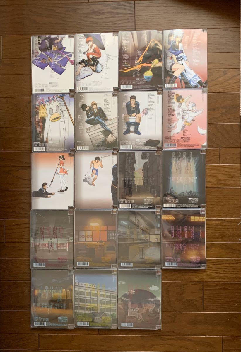 銀魂 DVD シーズン其ノ壱〜其ノ弍 19枚 おまけ付き