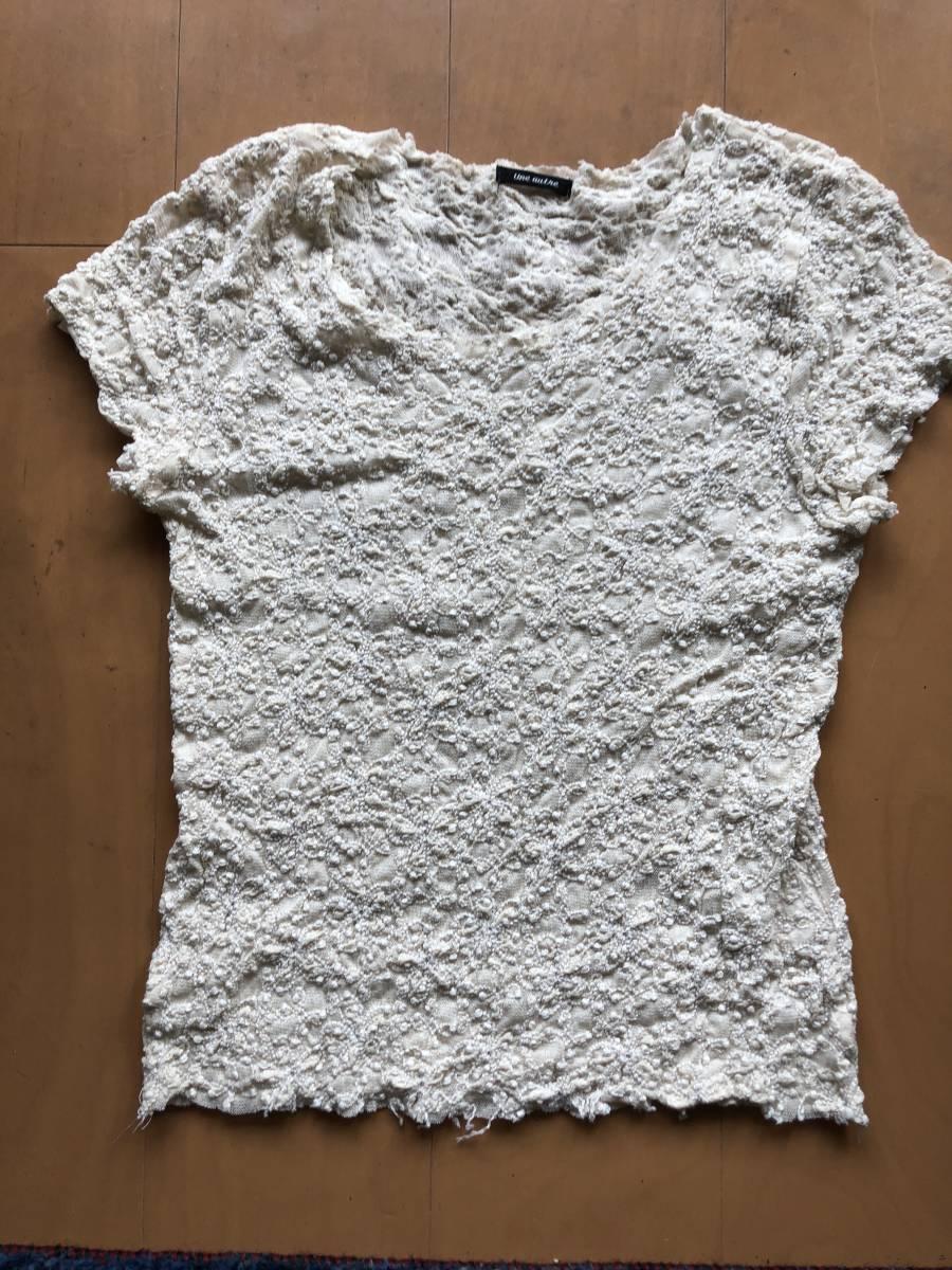 メルベイユアッシュ ピッタリ素材のシャツ_画像1