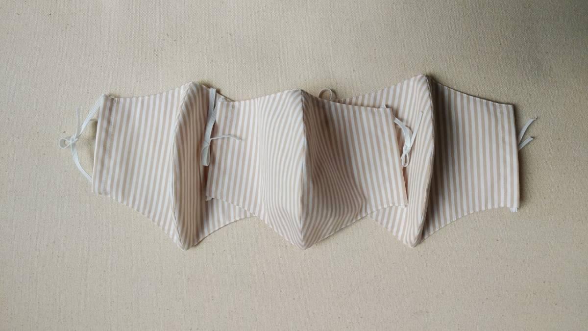 [M&M]★看護師手作りのマスクカバー1袋3枚入りです★丁寧に作りました。★このマスクカバーは新品未使用品です_画像1