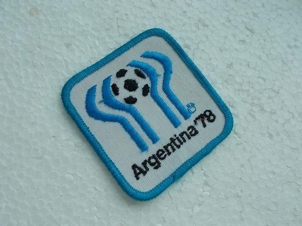 Argentina 78 1978 FIFAワールドカップ アルゼンチン ロゴ サッカー ワッペン/スポーツ 刺繍 カスタム ユニフォーム おしゃれ 409