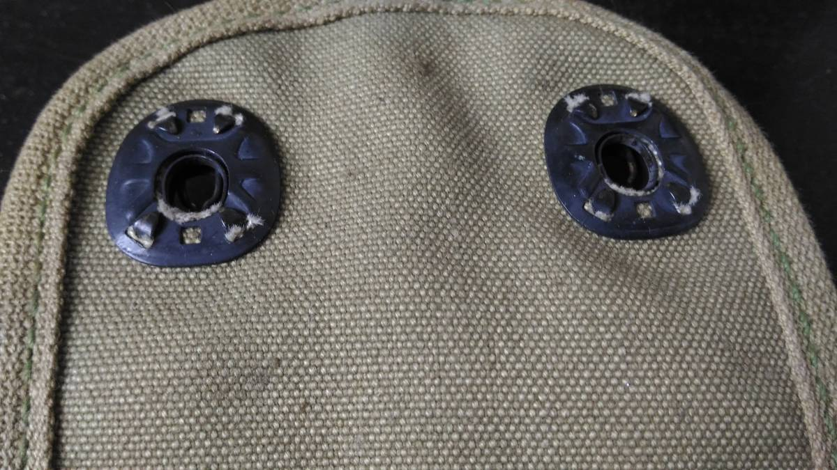 WW1~戦間期 米軍 45口径 自動拳銃用 弾倉入れ ガバメント マガジンポーチ 1918年製_画像6