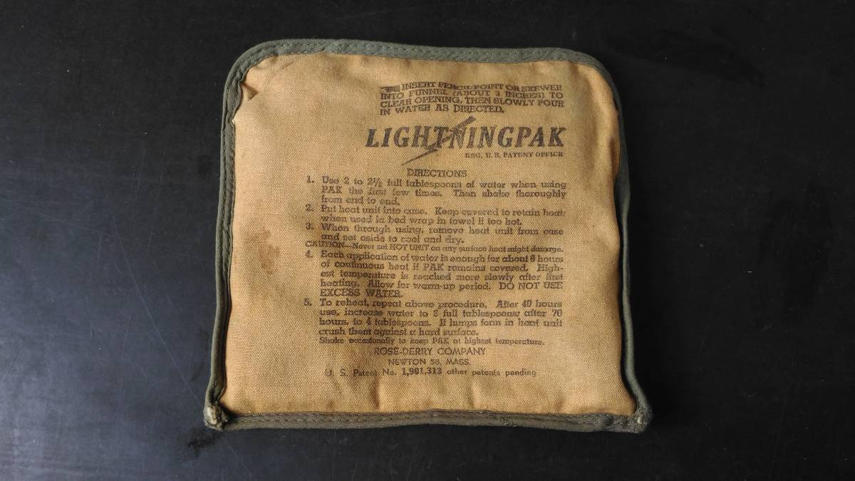 米軍 加温剤 Lightningpak WW2~朝鮮戦争~ベトナム戦争_画像5