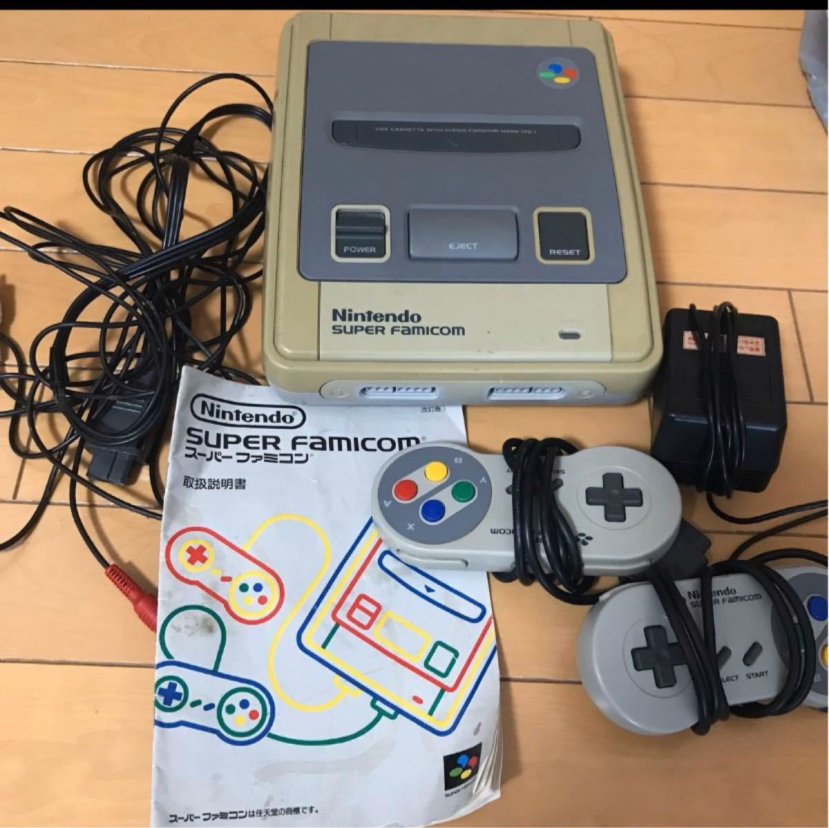 お値下げ 任天堂 スーパーファミコン 本体 ソフト12本セット
