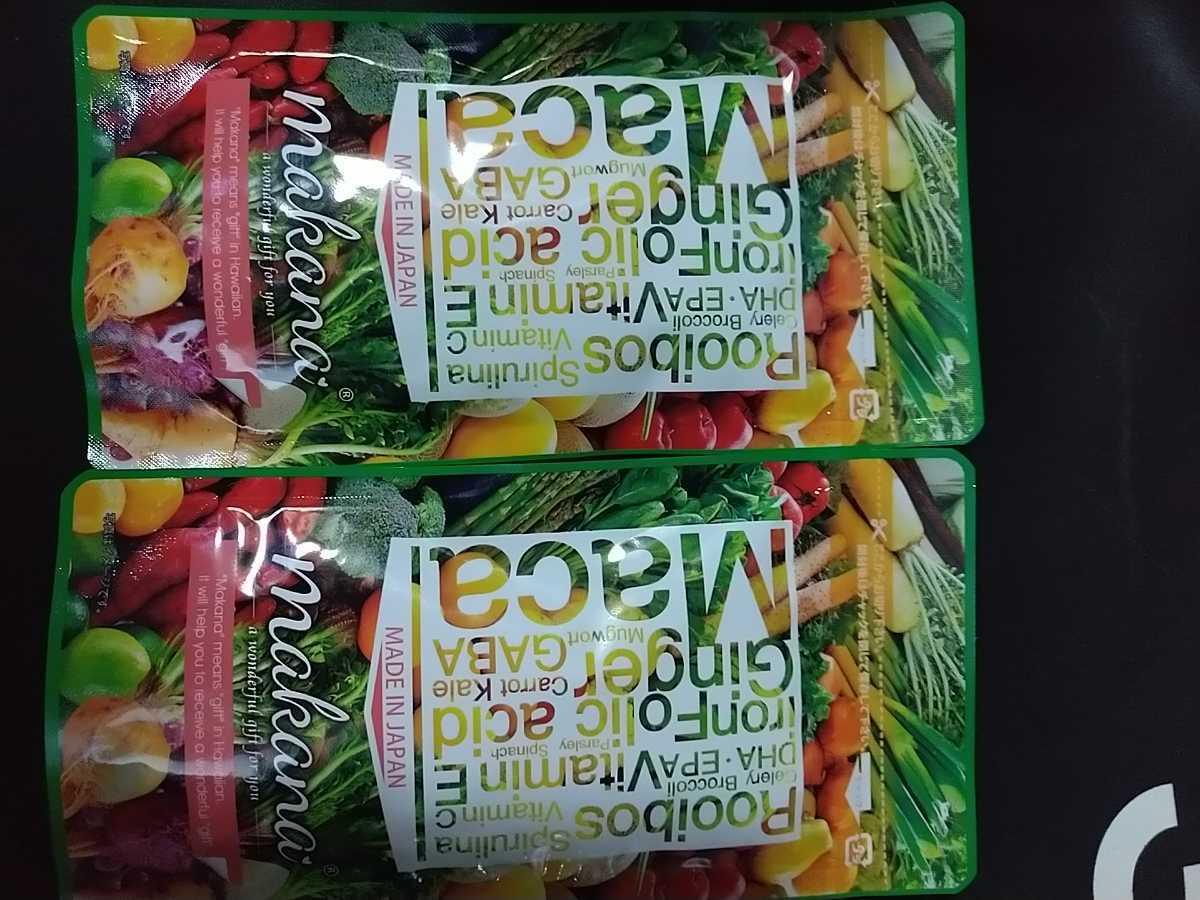 2袋x120粒 マカナ 葉酸 makana マカ 葉酸サプリ 葉酸 カルシウム 妊活サプリメント_画像1
