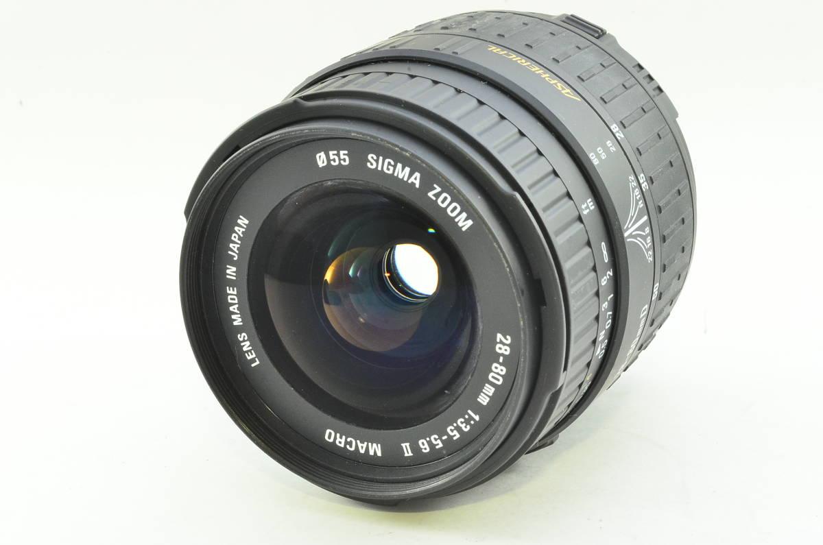 ★良品★シグマ SIGMA ZOOM 28-80mm F3.5-5.6 II MACRO ニコン Nikon #M180524_画像1