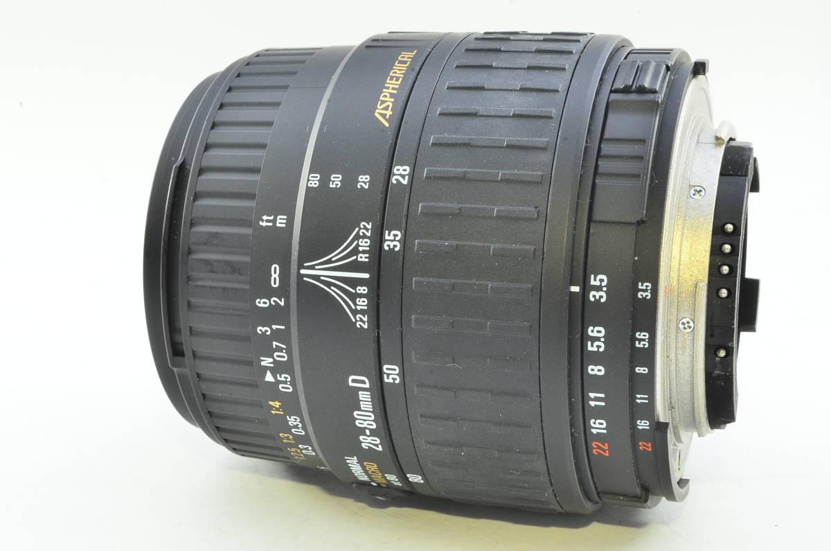 ★良品★シグマ SIGMA ZOOM 28-80mm F3.5-5.6 II MACRO ニコン Nikon #M180524_画像2