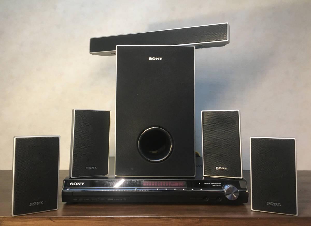 SONY 5.1chサラウンドシステム ホームシアター アンプ・スピーカーセットDAV-DZ220#SONY