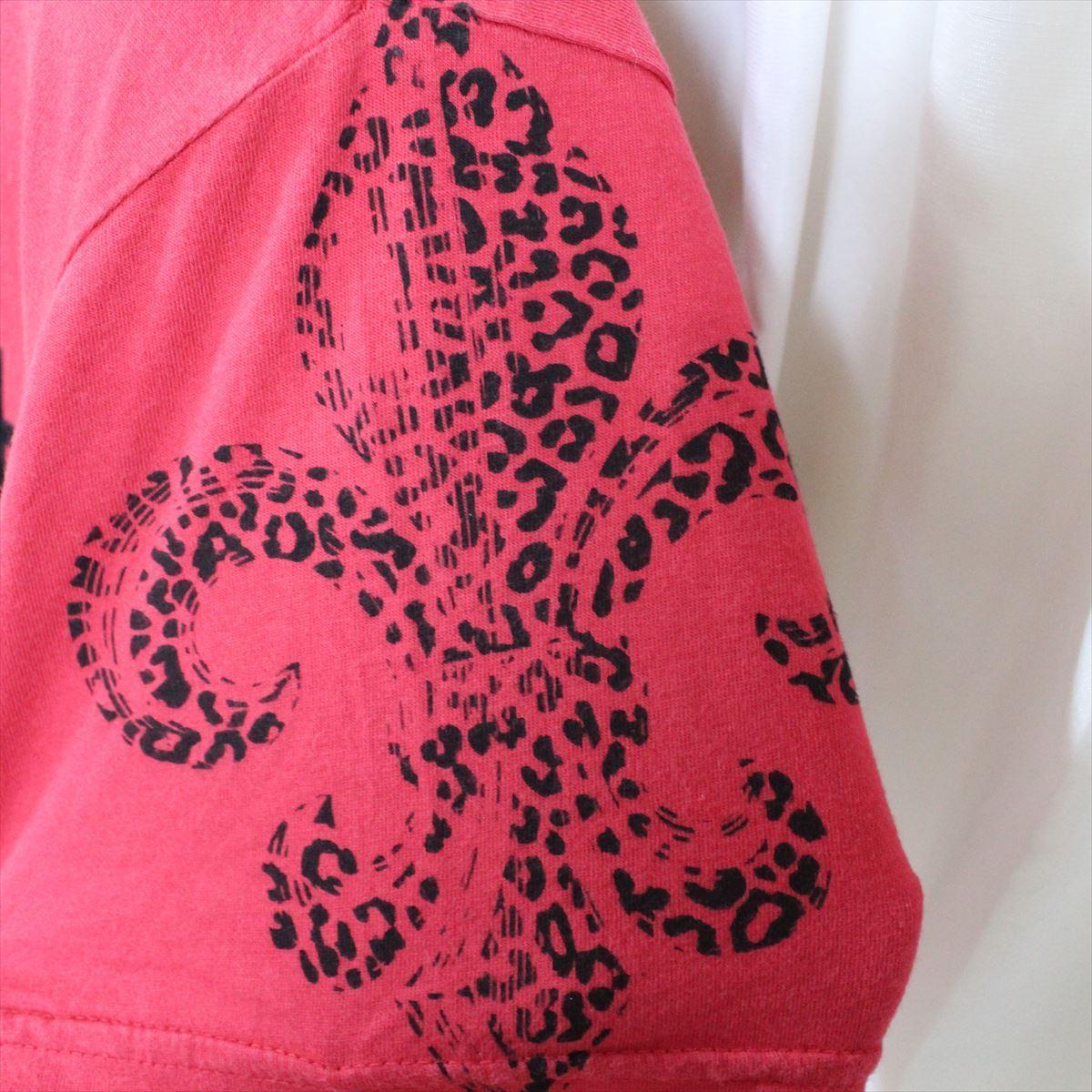 スメット SMET メンズ半袖Tシャツ レッド Sサイズ NO13 新品 赤_画像3