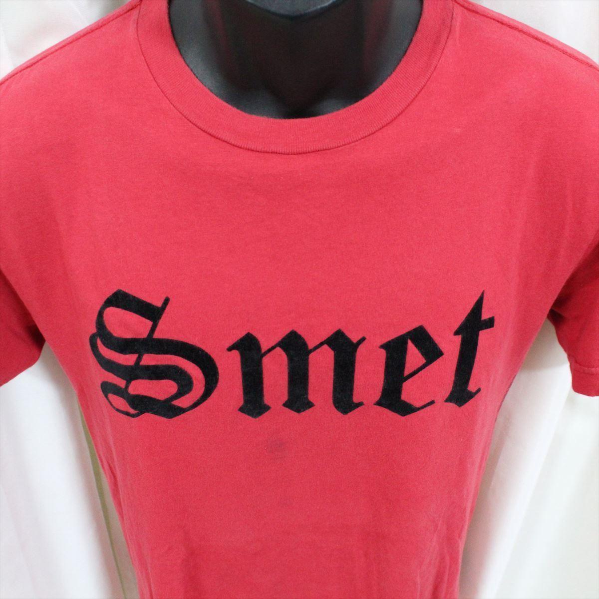 スメット SMET メンズ半袖Tシャツ レッド Sサイズ NO13 新品 赤_画像2