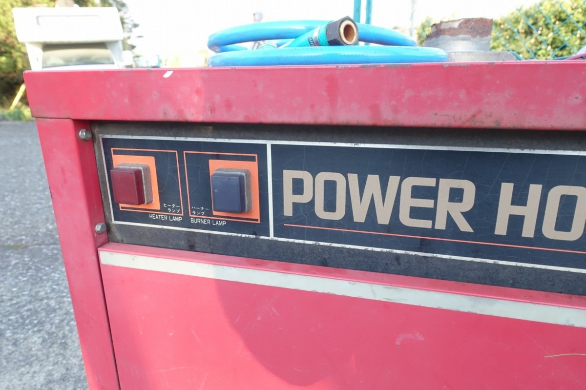 岡常歯車 温水高圧洗浄機 TP-20 3P200V+灯油 ボイラー 温水洗浄機 業務用 洗車 ガン、ホース付属 オカツネ_画像3