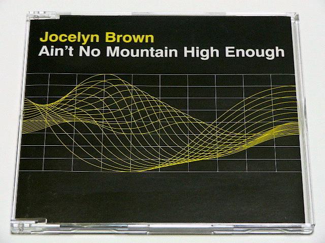 JOCELYN BROWN / AIN'T NO MOUNTAIN HIGH ENOUGH // CDS ジョセリン ブラウン_画像1